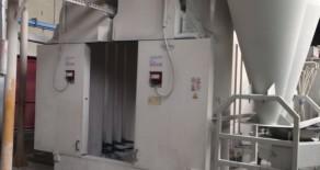 Impianto di verniciatura a polveri usato